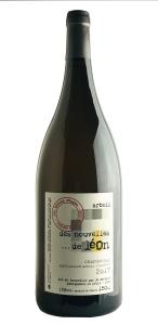 Arbois Chardonnay Des Nouvelles de Leon Les Bottes Rouges 2017 Magnum