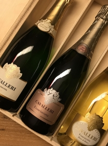 Franciacorta Sparling Wines Cavalleri Wine Box