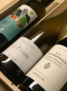 Confezione Regalo Vini Bianchi Naturali 3 Bottiglie
