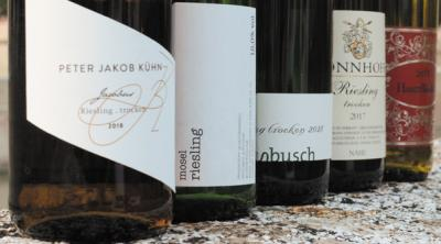The wines that first quench your thirst, than seduce you: German Riesling